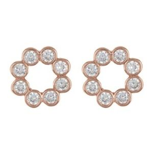 NEW Kate Spade Open Circle Stud Earrings